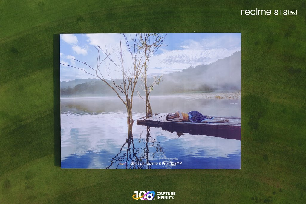 Rekor MURI - ranah 8 Pro 108MP