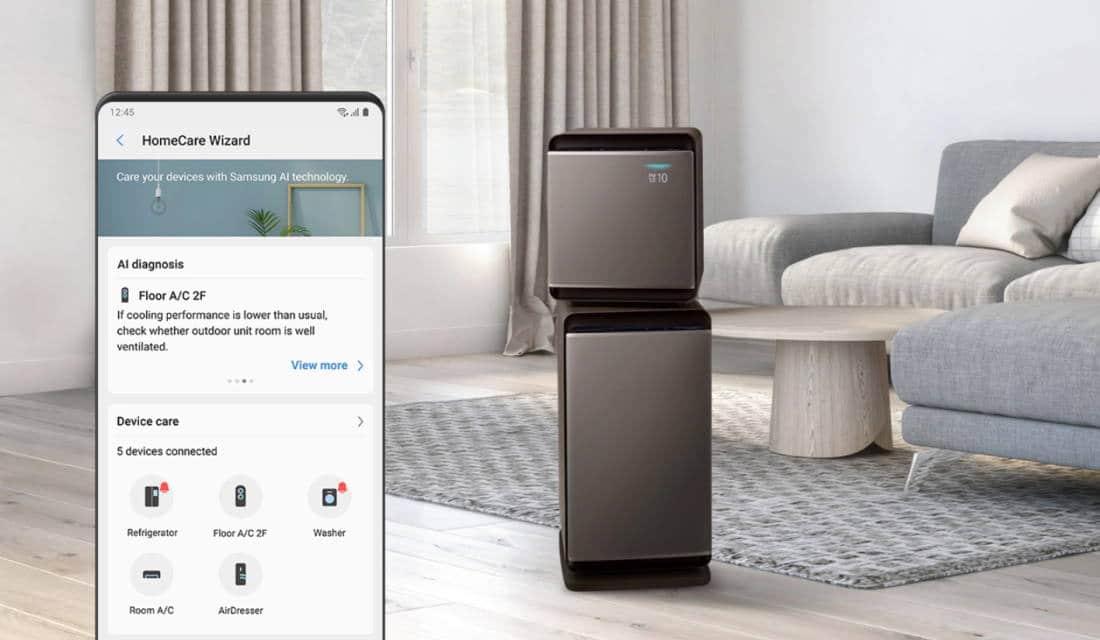 smart home IoT aplikasi SmartThings Samsung