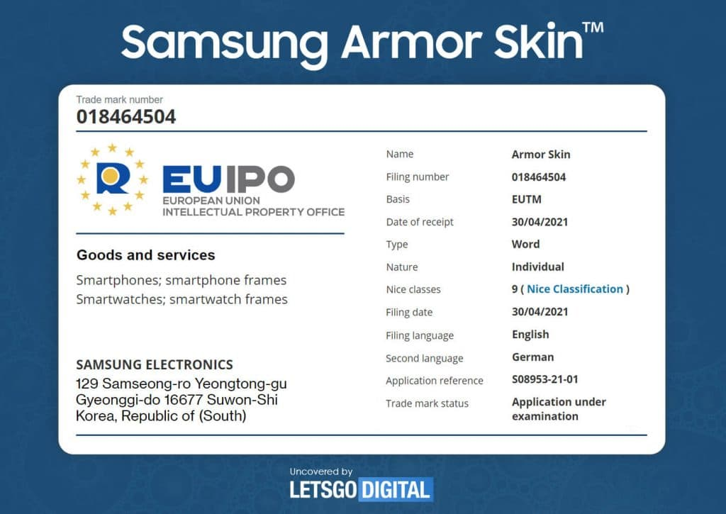 samsung armor