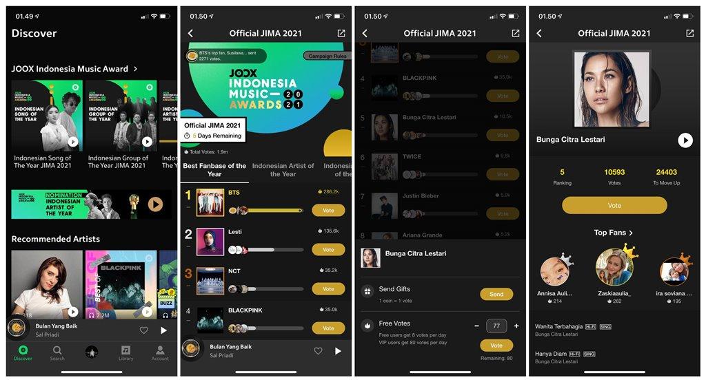 JOOX Indonesia Music Awards 2021