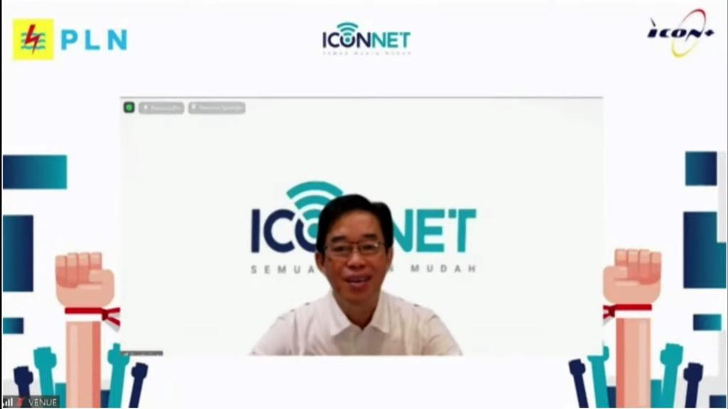Peluncuran Iconnet PLN Zulkifli Zaini