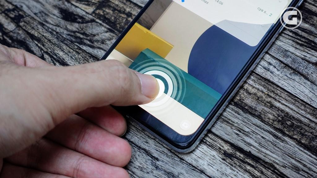 Samsung Galaxy A32 - fingerprint