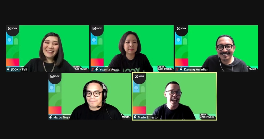 JOOX Rooms virtual press conference